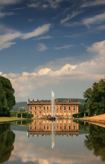 Chatsworth House - Derbyshire by Jon Tait