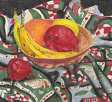 Fruit Still Life by Rebecca Skeels