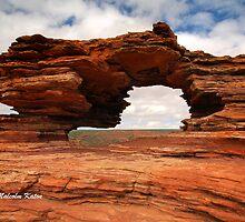 Nature's Window - Kalbarri NP, WA by Malcolm Katon