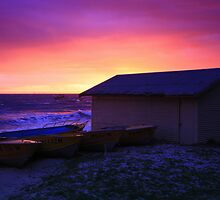 Dawn Storm at Indented Head by Bellarine