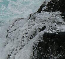 Aqua Rock by Karina  Cooper