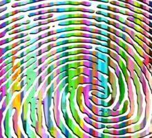 Digital Fingerprint Sticker