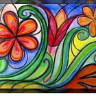 Flora Pastel  by MelDavies