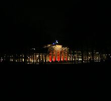 Brandenburger Tor from the Tiergarten by Mathew Russell