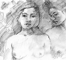 Inspired by Gauguin by Lorenzo Castello