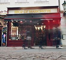 Shop of Marionette  by Chetan R