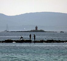 Diving in to the sea by CiaoBella