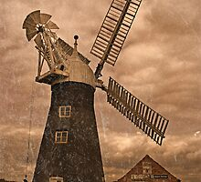 North Leverton Windmill - Lincolnshire by Jon Tait