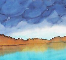 Lake in the Mountains by Caroline  Lembke
