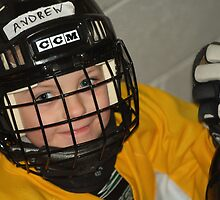 Andrew...Hockey Player by John Beamish