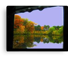 Mirror (Water reflection VII)!... Canvas Print