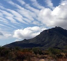 Clouds Over the Davis Mountains by Susan Russell
