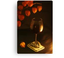Well-dressed Wine Canvas Print
