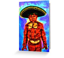 The Angry Mariachi Greeting Card