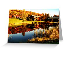 Zen Reflection Greeting Card