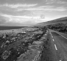 Burren road by John Quinn