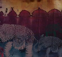 Lost City of Elephants Dusk by © Karin  Taylor