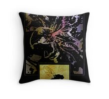 The Flower And The Fly Throw Pillow