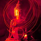 Red Buddha by Martin McKiernan