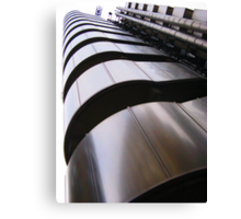 Up, up and away - Lloyds Building, London Canvas Print