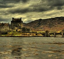 Eillan Donan Castle, Scottish Highlands by Karl Normington