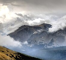 RMNP / Mt Nimbus & Mt Stratus by Mark Bolen