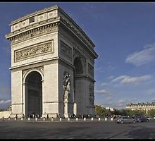 l'Arc de Triomphe by Patrick T. Power