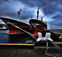 Irish Fishing Vessels by Gary Buchan