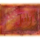 July (from a year full of color) by pentangled