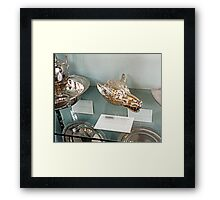 Silver-plate  Laarne Castle - Belgium - Wolf beaker Framed Print