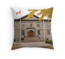 Cornwall Jail Throw Pillow