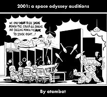 2001: a space odyssey auditions by atombat