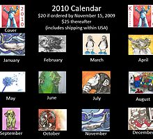 2010 Calendar now available! by Kat Anderson