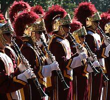 USC TROJAN BAND by loyaltyphoto