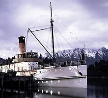 """TSS Earnslaw"" - Queenstown  by Trevor Wallace"