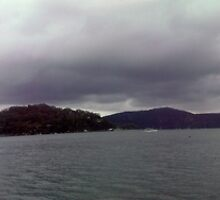 An Overcast Day On The Hawkesbury by Andrew  Campbell