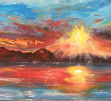 Fire in the Sky by Elaine Green