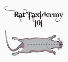 Rat Taxidermy 101 by Abbysinthe