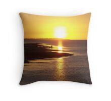 Light Fantastic- Hervey Bay Queensland Throw Pillow