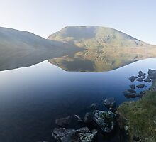 Morning Mists - Grisedale Tarn by David Lewins