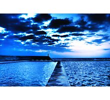 Divided - Newcastle Ocean Baths Photographic Print