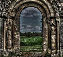 Haughmond Abbey Near Shrewsbury Shropshire by Emma Wright