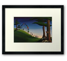 Brothers and Sisters Framed Print