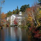 Old Fire Station Sunapee by brooke1429