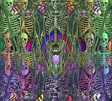 Skeleton Army by Kaleidoking