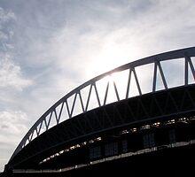 Rare Sunny Seattle Shot by Danielle LaBerge