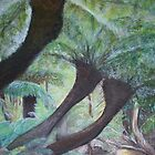 MAN FERNS - Landscape by Sonya Smith