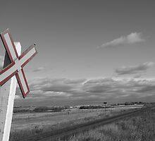 Railroad crossing by Tina K