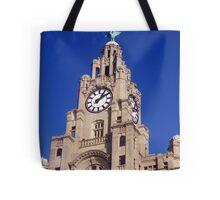 Liver Building Liverpool Tote Bag