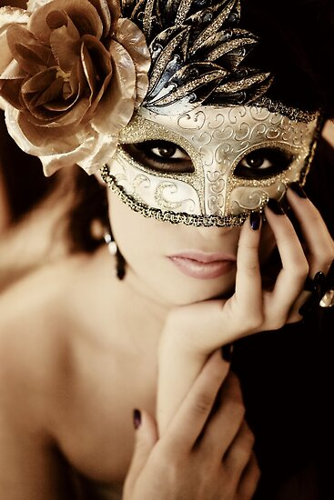 My Golden Mask by jacqleen